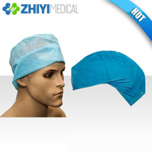 disposable surgical cap with ties